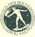 AUS DER BÜCHEREI LUDWIG SAENG (odkaz v elektronickém katalogu)