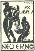 EX LIBRIS NEU ERNÖ (odkaz v elektronickém katalogu)