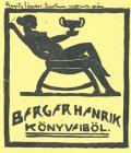 BERGER HENRIK KÖNYVEBÖL (odkaz v elektronickém katalogu)