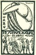 TABU DR. FISCHER MARCELL EX LIBRIS (odkaz v elektronickém katalogu)