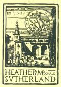 EX LIBRIS HEATHER McDONALD SUTHERLAND (odkaz v elektronickém katalogu)
