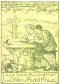 AUS DER BÜCHEREI von Ottilie u. Rudolf Krauss (odkaz v elektronickém katalogu)
