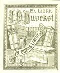 EX-LIBRIS J.P.Duvekot (odkaz v elektronickém katalogu)