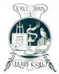 EXLIBRIS LLUIS COLL (odkaz v elektronickém katalogu)