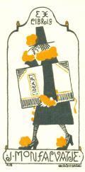 EX LIBRIS J. MONSALVATJE (odkaz v elektronickém katalogu)