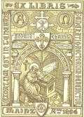 EX LIBRIS SOPHIE CHRIST (odkaz v elektronickém katalogu)
