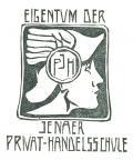 EIGENTUM DER JENAER PRIVAT-HANDELSSCHULE (odkaz v elektronickém katalogu)