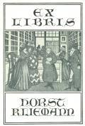 EX LIBRIS HORST KLIEMANN (odkaz v elektronickém katalogu)