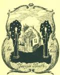 Ex libris Joseph Porath (odkaz v elektronickém katalogu)