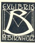 EXLIBRIS M. BIRNHOLZ (odkaz v elektronickém katalogu)