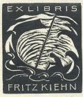 EX LIBRIS FRITZ KIEHN (odkaz v elektronickém katalogu)