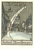 Ex Libris Robert Haselberger (odkaz v elektronickém katalogu)