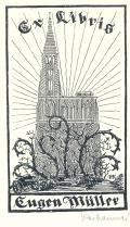 Ex libris Eugen Müller (odkaz v elektronickém katalogu)