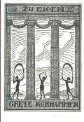 ZU EIGEN GRETE KORHAMMER (odkaz v elektronickém katalogu)