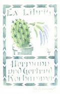 Ex Libris Hermann und Gertrud Korhammer (odkaz v elektronickém katalogu)