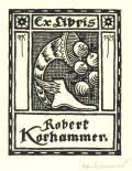 Ex Libris Robert Korhammer (odkaz v elektronickém katalogu)