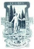 EX LIBRIS MUDr RAoUL RITT. v. WoLF (odkaz v elektronickém katalogu)