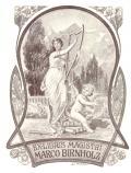 EX-LIBRIS MAGISTRI MARCO BIRNHOLZ (odkaz v elektronickém katalogu)