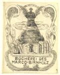 BÜCHEREI DES MARCO BIRNHOLZ (odkaz v elektronickém katalogu)