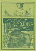 Ex Libris Dris.iris.Johannes Diekmann (odkaz v elektronickém katalogu)