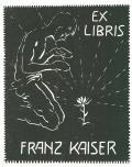 EX LIBRIS FRANZ KAISER (odkaz v elektronickém katalogu)