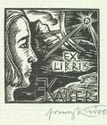 EX LIBRIS F.KAISER (odkaz v elektronickém katalogu)