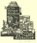 Aus den Wiener Büchern des Willi Müller (odkaz v elektronickém katalogu)