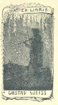 EX LIBRIS GUSTAV WEISS (odkaz v elektronickém katalogu)