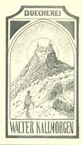 BUECHEREI WALTER KALLMORGEN (odkaz v elektronickém katalogu)