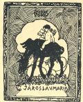 EXLIBRIS JAROSLAV MARIA (odkaz v elektronickém katalogu)