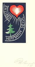 EXLIBRIS HERMANN SEIDL (odkaz v elektronickém katalogu)