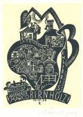 EXLIBRIS APOTHEKER MARCO BIRNHOLZ (odkaz v elektronickém katalogu)