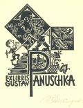EXLIBRIS GUSTAV PANUSCHKA (odkaz v elektronickém katalogu)
