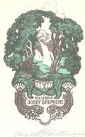 EXLIBRIS JOSEF GALMICHE (odkaz v elektronickém katalogu)