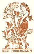 EX LIBRIS EROTICIS RESI HUBERMANN (odkaz v elektronickém katalogu)