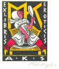EXLIBRIS EROTICIS A.K.S (odkaz v elektronickém katalogu)