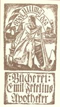 Bücherei: Emil Jekelius Apotheker (odkaz v elektronickém katalogu)