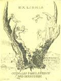 EX LIBRIS OTTO u. LIS KOHLERMANN BAD DUERRHEIM (odkaz v elektronickém katalogu)