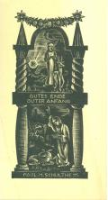 GUTES ENDE GUTER ANFANG PAUL H. SCHULTHESS (odkaz v elektronickém katalogu)