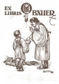 EX LIBRIS O. BAUER (odkaz v elektronickém katalogu)