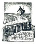 DVORECZI KONTSEK SÁNDOR Könyve (odkaz v elektronickém katalogu)
