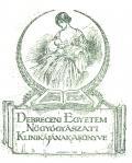 Debreceni Egyetem Nögyógyászati Klinikájánaka Könyve (odkaz v elektronickém katalogu)