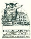 Tanuló könyve Csáthy Ferenc (odkaz v elektronickém katalogu)