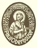 Exlibris Paul Oberholzer (odkaz v elektronickém katalogu)