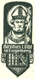 Basilius I. Abt zu Engelberg (odkaz v elektronickém katalogu)