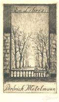 Ex Libris Dietrich Metelmann (odkaz v elektronickém katalogu)