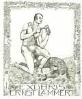EXLIBRIS ERNST LAMMERT (odkaz v elektronickém katalogu)