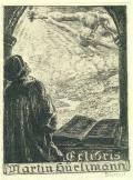 Exlibris Martin Hürlimann (odkaz v elektronickém katalogu)