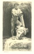 Ex libris Oskar Leuschner (odkaz v elektronickém katalogu)