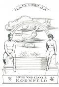 EX LIBRIS HUGO UND FRANZIE KORNFELD (odkaz v elektronickém katalogu)